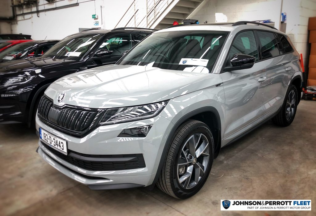 johnson and perrott skoda kodiaq sportline steel grey. Black Bedroom Furniture Sets. Home Design Ideas