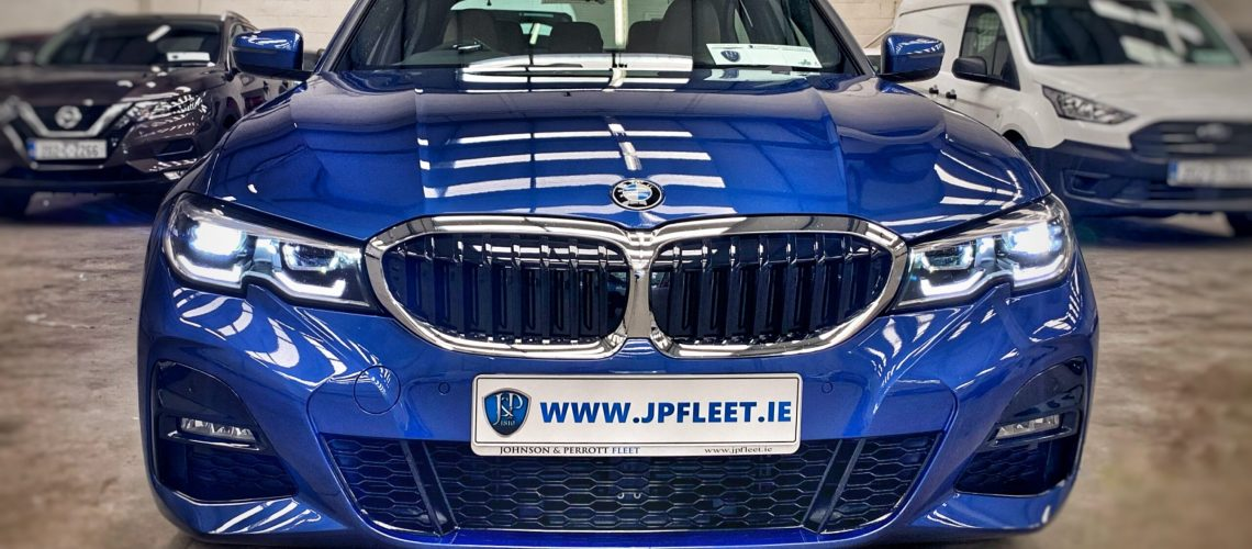 Johnson & Perrott BMW 320D MSport front Leasing
