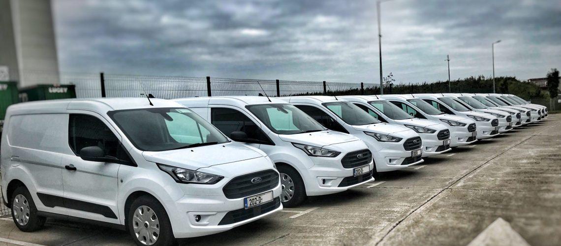 Johnson & Perrott Fleet Transit Connect vans Leasing